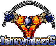 IronWorkers Union team badge
